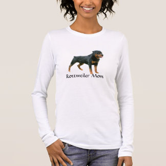Rottweiler Mom Ladies T-Shirt