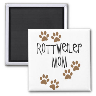 Rottweiler Mom Magnet