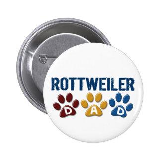 ROTTWEILER Mom Paw Print 1 6 Cm Round Badge