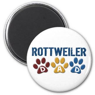 ROTTWEILER Mom Paw Print 1 6 Cm Round Magnet
