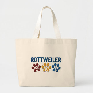 ROTTWEILER Mom Paw Print 1 Canvas Bags