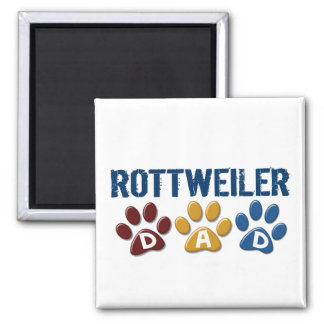 ROTTWEILER Mom Paw Print 1 Magnets