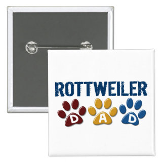 ROTTWEILER Mom Paw Print 1 Pin