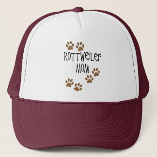Rottweiler Mom Trucker Hat