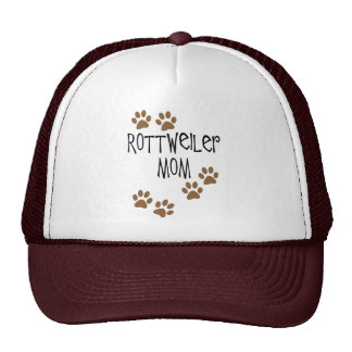 Rottweiler Mom Trucker Hat