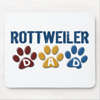 ROTTWEILER Mum Paw Print 1 Mouse Pad