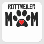Rottweiler Mum Square Stickers