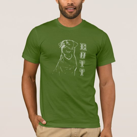 Rottweiler pencil sketch T-Shirt