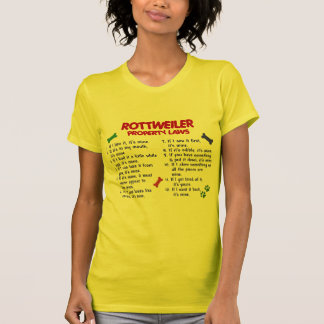 ROTTWEILER Property Laws 2 T Shirt