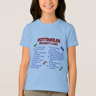ROTTWEILER Property Laws 2 T Shirts