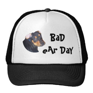 RottWeiler Puppy, BaD eAr DaY Cap
