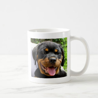 Rottweiler puppy coffee mug
