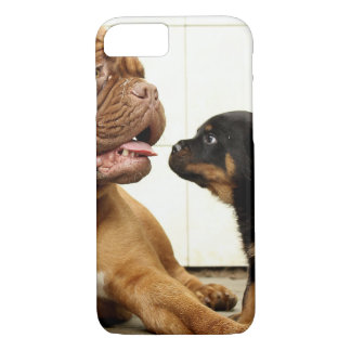 Rottweiler-puppy-dog-yearning iPhone 7 Case