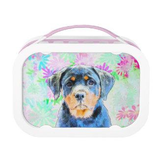Rottweiler Puppy Lunch Box
