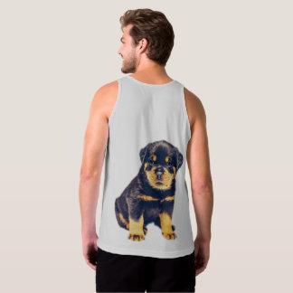 Rottweiler Puppy Tank Top