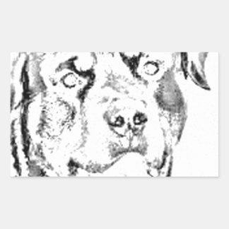 Rottweiler Rectangular Sticker