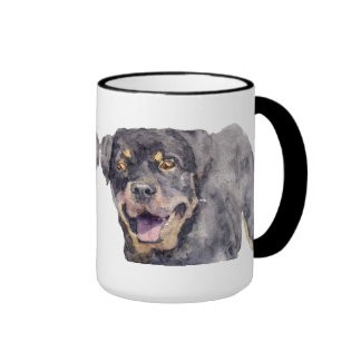 Rottweiler Ringer Mug