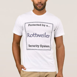 Rottweiler Security System T-Shirt