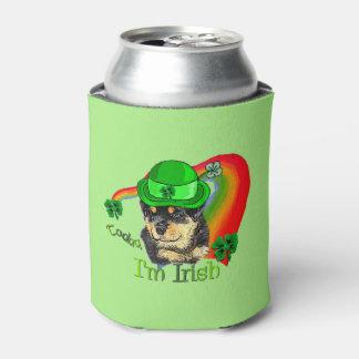 Rottweiler St Patricks Day Can Cooler