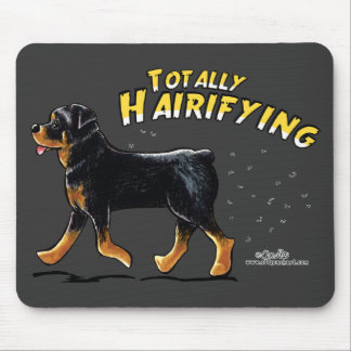 Rottweiler Totally Hairifying Mouse Pad