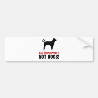 Rottweiler (Undocked Tail) Bumper Sticker