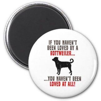 Rottweiler (Undocked Tail) Magnet