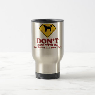 Rottweiler (Undocked Tail) Travel Mug