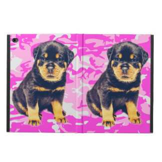 Rottweiler with Pink Camo Powis iPad Air 2 Case
