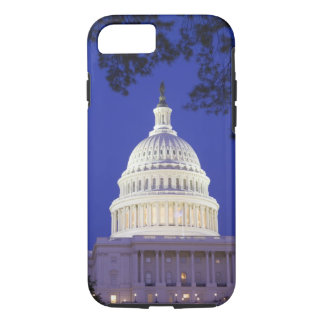 Rotunda of U.S. Capitol at night, Washington iPhone 8/7 Case