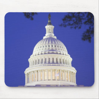 Rotunda of U.S. Capitol at night, Washington Mouse Pad