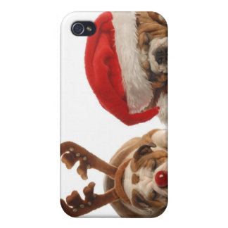 Roudolph and Santa iPhone 4/4S Covers