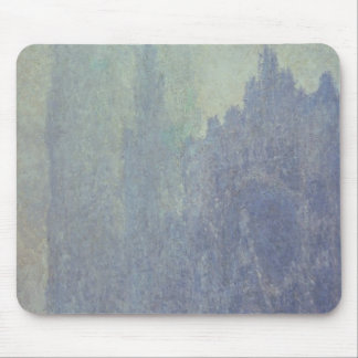 Rouen Cathedral Foggy Weather 1894 oil on canva Mouse Pads
