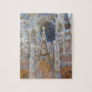 Rouen Cathedral, Magic in Blue by Claude Monet Jigsaw Puzzle