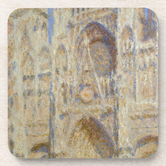 Rouen Cathedral, Portal in the Sun by Claude Monet Coasters