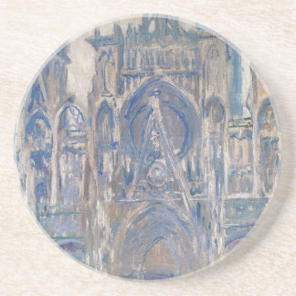 Rouen Cathedral, Study of the Portal by Claude Sandstone Coaster