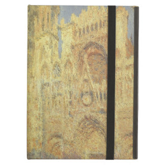 Rouen Cathedral, Sunset by Claude Monet iPad Air Covers