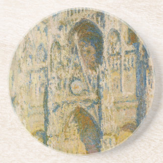 Rouen Cathedral, the Portal and the Tower d`Allban Drink Coaster