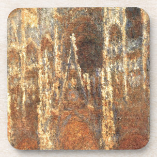 Rouen Cathedral, the Portal by Claude Monet Coaster