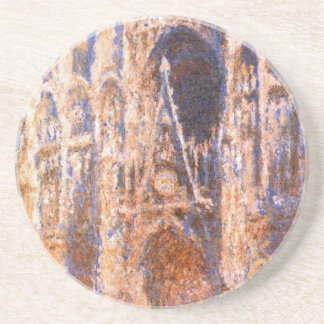 Rouen Cathedral, the Portal in the Sun by Claude Coaster