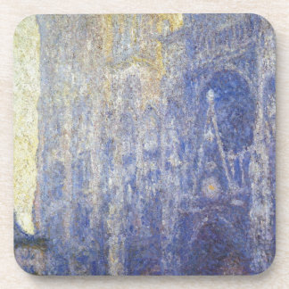 Rouen Cathedral, the Portal, Morning Effect Drink Coaster