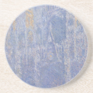 Rouen Cathedral, the Portal, Morning Fog by Claude Drink Coaster
