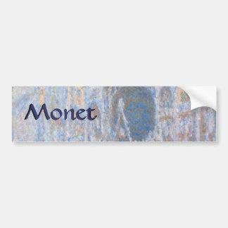 Rouen Cathedral West Facade by Claude Monet Bumper Sticker