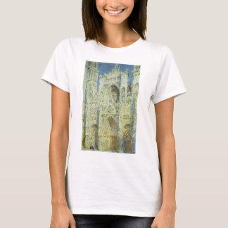 Rouen Cathedral West Facade Sunlight, Claude Monet T-Shirt