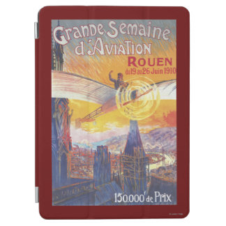 Rouen, France - Pilot and Plane iPad Air Cover