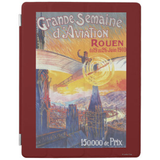 Rouen, France - Pilot and Plane iPad Cover