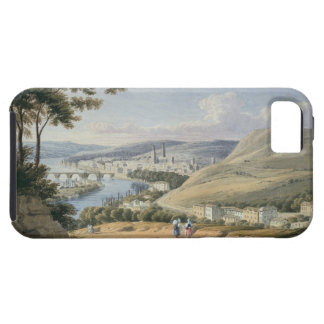 Rouen from Mont Sainte-Catherine (w/c on paper) Case For The iPhone 5