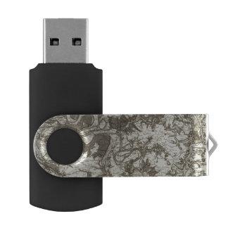 Rouen Swivel USB 2.0 Flash Drive