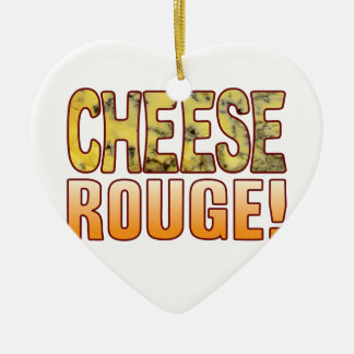 Rouge Blue Cheese Ceramic Heart Decoration