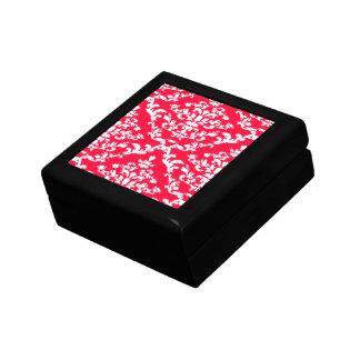 Rouge Bold Damask @ Emporiomoffa Trinket Boxes
