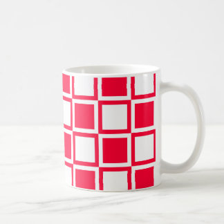 Rouge Bold Mod Squares Coffee Mug